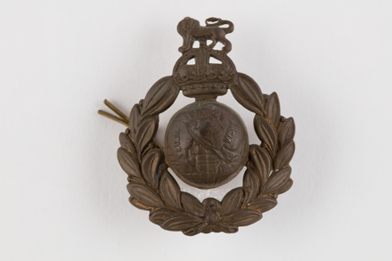 badge, regimental, 2019.62.226, Photographed 29 Jan 2020, © Auckland Museum CC BY
