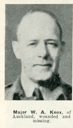 Portrait of Major William Andrew Knox, Auckland Weekly News, 21 January 1942. Auckland Libraries Heritage Collections AWNS-19420121-29-1. Image has no known copyright restrictions.