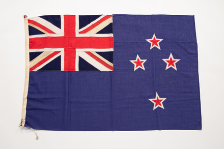 flag, 2019.62.345, Photographed 24 Jan 2020, © Auckland Museum CC BY