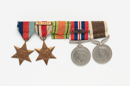 medal, campaign, 2019.62.554.2, Photographed 03 Feb 2020, © Auckland Museum CC BY