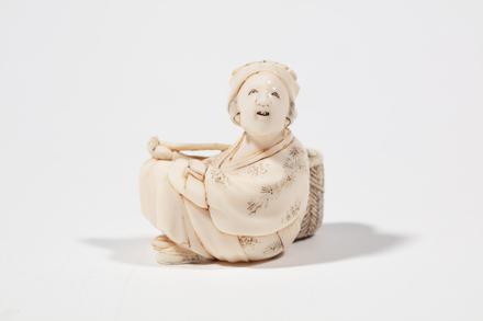 netsuke, 1932.233, 595, 18032, M146, Photographed by Jennifer Carol, digital, 13 Mar 2020, © Auckland Museum CC BY