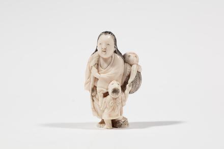netsuke, 1932.233, 595, 18032, 18032.XX, M158, Photographed by Jennifer Carol, digital, 13 Mar 2020, © Auckland Museum CC BY