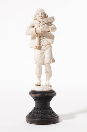 figure, musician, 1932.233, 580, 582, 18003, M234, 18065, Photographed by Jennifer Carol, digital, 16 Mar 2020, © Auckland Museum CC BY