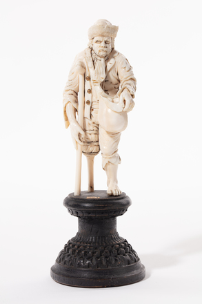 figure, beggar, 1932.233, 583, 584, 18006, M237, Photographed by Jennifer Carol, digital, 16 Mar 2020, © Auckland Museum CC BY
