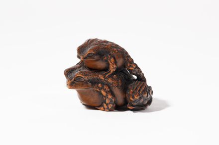 netsuke, 1932.233, 595, 18032, 18032.28, M166, Photographed by Jennifer Carol, digital, 19 Mar 2020, © Auckland Museum CC BY