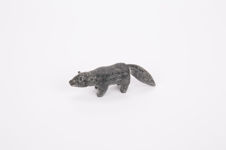 Artic fox figurine, 1973.154 Cultural Permissions Apply