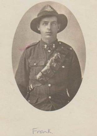 Portrait of Francis (Frank) Caswell. Image courtesy of the family of Charles Edward Caswell, SCRoll Project, South Canterbury Museum. Image is subject to copyright restrictions.