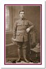 Portrait of Henry Aitken, c.1917. 'Note the single wound stripe on Henry's left sleeve. Henry fractured his arm in October 1916 and after three months recovery returned to Base Depot in late January 1917.' Image courtesy of P. Aitken, SCRoll Project, South Canterbury Museum.