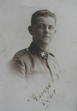 Portrait of George Black, 5 June 1915. Image courtesy of J. Ware, SCRoll Project, South Canterbury Museum. Image is subject to copyright restrictions.