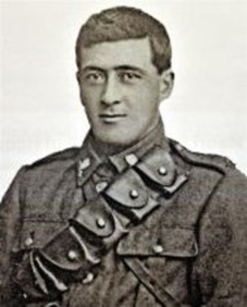 Photograph of John (Jack Geary). Image kindly provided by Grant family (April 2020). Image has no known copyright restrictions.