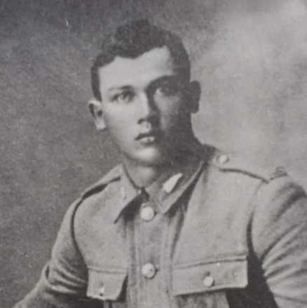 Portrait of Private John Tikirau Callaghan 19617, c.First World War. Image kindly provided by Hemi Ruha (April 2020). Image may be subject to copyright restrictions.