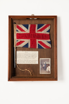 flag, 2019.62.119, Photographed 08 May 2020, © Auckland Museum CC BY