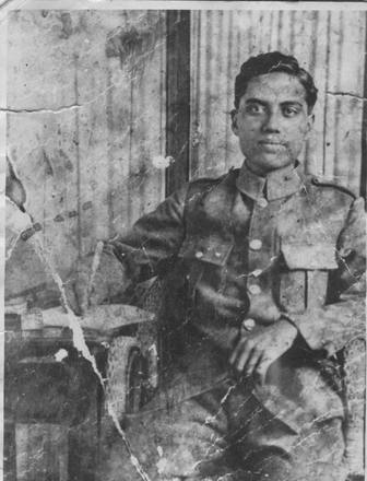 Photograph of Private Martin Mitchell. Image courtesy of Bobby Nicholas, Paula Paniani and Cate Walker, Cook Islands WW1 NZEF ANZAC Soldiers Research Project. Image is subject to copyright restrictions.