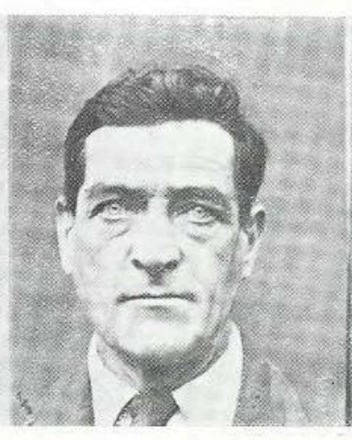 Photograph of Walter De Lacey from Government Gazette, circa 1929. Image may be subject to copyright restrictions.