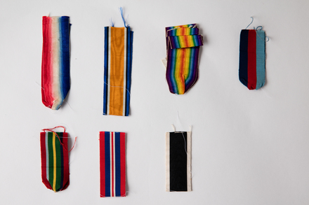 ribbons, medal / 2019.23.3.1 / © Auckland Museum CC BY