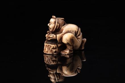 netsuke, 1999.118.118, © Auckland Museum CC BY