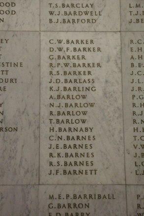 Auckland War Memorial Museum, World War II Hall of Memories Panel  B_004. Image taken June 2020.