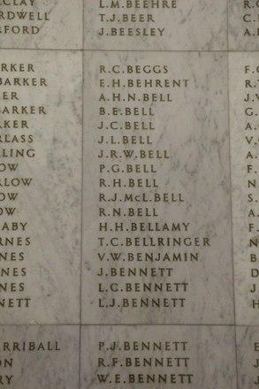 Auckland War Memorial Museum, World War II Hall of Memories Panel  B_009. Image taken June 2020.
