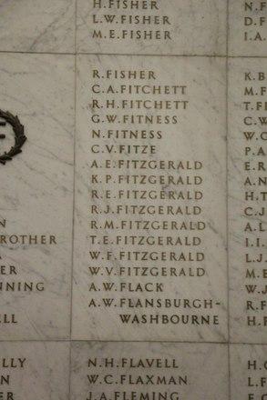 Auckland War Memorial Museum, World War II Hall of Memories Panel  F_006. Image taken June 2020.