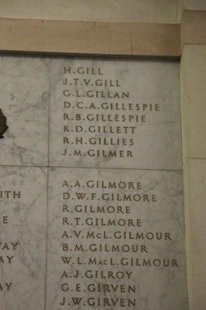 Auckland War Memorial Museum, World War II Hall of Memories Panel  G_005. Image taken June 2020.