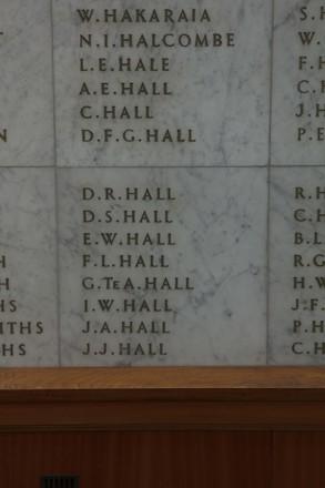 Auckland War Memorial Museum, World War II Hall of Memories Panel  H_003. Image taken June 2020.