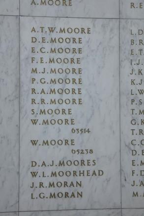 Auckland War Memorial Museum, World War II Hall of Memories Panel  M_036. Image taken June 2020.