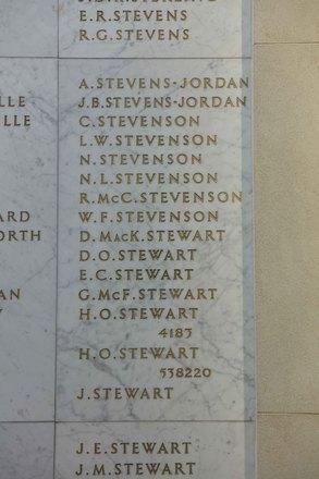 Auckland War Memorial Museum, World War II Hall of Memories Panel  S_024. Image taken June 2020.