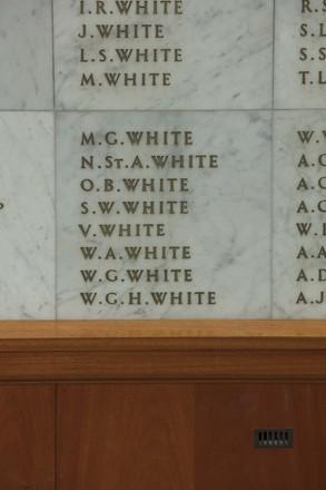 Auckland War Memorial Museum, World War II Hall of Memories Panel  W_014. Image taken June 2020.