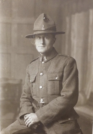 Portrait of John Frederick Sertifield Brown. Image kindly provided by Andrew Edgcombe (November 2020).