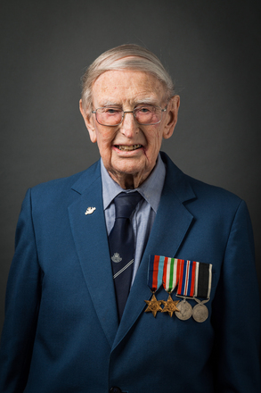 Portrait of David Alistair Bray, 442386 (2014). © NZIPP Photograph by Kaye Davis 1234-2784. CC-BY-NC-ND 4.0.