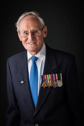 Portrait of Eric Bruce Wilson Butt, 434606 (2014). © NZIPP Photograph by Larissa Drysdale 9999-7573. CC-BY-NC-ND 4.0.
