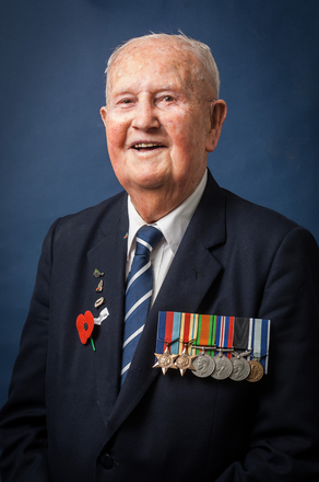 Portrait of Russell Geeves, 21184 (2014). © NZIPP Photograph by Alan Dove 1174-4011. CC-BY-NC-ND 4.0.