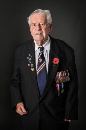 Portrait of George Jones, 412304 (2014). © NZIPP Photograph by Jane Nelson 1247-7249. CC-BY-NC-ND 4.0.