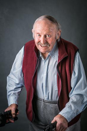 Portrait of James Frederick Kennedy,  (2014). © NZIPP Photograph by Sarah Beaufoy 1223-2231. CC-BY-NC-ND 4.0.