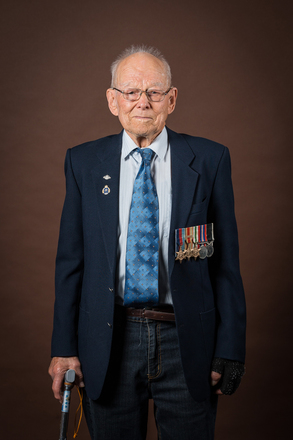 Portrait of Ernest Fred Attwood, 243151 (2014). © NZIPP Photograph by Gino Demeer 1168-7239. CC-BY-NC-ND 4.0.