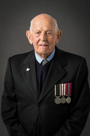Portrait of Douglas Oswin Beatty, 619751 (2014). © NZIPP Photograph by Heather RIchardson 9999-7465. CC-BY-NC-ND 4.0.
