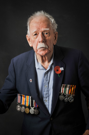 Portrait of William Norman Bishop, 6444 (2014). © NZIPP Photograph by Brett Lees 1101-5052. CC-BY-NC-ND 4.0.