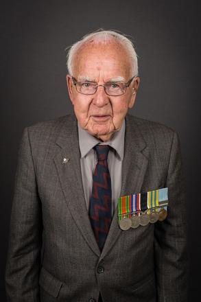 Portrait of John Bews Christophers, 4211598 (2014). © NZIPP Photograph by Lester de Vere 1190-2017. CC-BY-NC-ND 4.0.