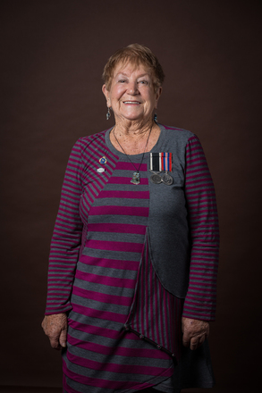 Portrait of Winifred Doris Coppell, 325 (2014). © NZIPP Photograph by Gino Demeer 1123-7239. CC-BY-NC-ND 4.0.