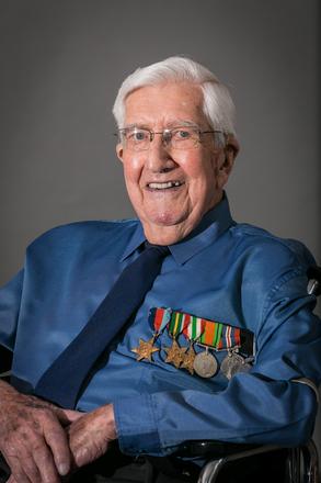 Portrait of Robert Clyde Culbert,  (2014). © NZIPP Photograph by Megan Graham 1175-7474. CC-BY-NC-ND 4.0.