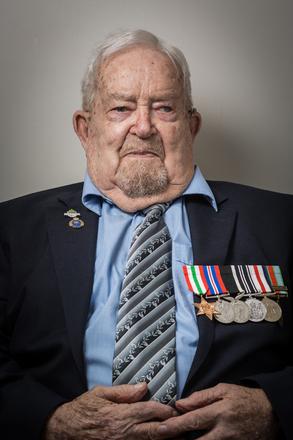 Portrait of Walter Douglas Foster, 455636 (2014). © NZIPP Photograph by Bill Irwin 9999-5108. CC-BY-NC-ND 4.0.