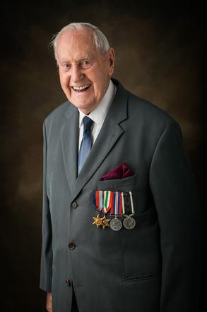 Portrait of George Cunningham Humphries, 444168 (2014). © NZIPP Photograph by Sarah Beaufoy 1194-2231. CC-BY-NC-ND 4.0.