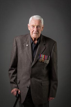 Portrait of Allan Morell Jones, 443211 (2014). © NZIPP Photograph by Aliah Jan 1112-2909. CC-BY-NC-ND 4.0.