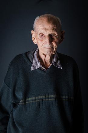 Portrait of Ronald Leslie Lock, 280847 (2014). © NZIPP Photograph by Myra Bayly 1214-7693. CC-BY-NC-ND 4.0.