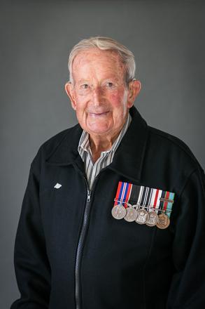 Portrait of Raymond Robert Rickard, 623190 (2014). © NZIPP Photograph by Sarah Beaufoy 1223-2231. CC-BY-NC-ND 4.0.