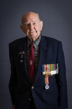 Portrait of Wilfred John Yearbury, 64928 (2014). © NZIPP Photograph by Aliah Jan 1122-2909. CC-BY-NC-ND 4.0.