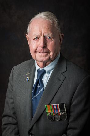 Portrait of Frank Baigent, 436208 (2014). © NZIPP Photograph by Steve Hussey 1144-7588. CC-BY-NC-ND 4.0.