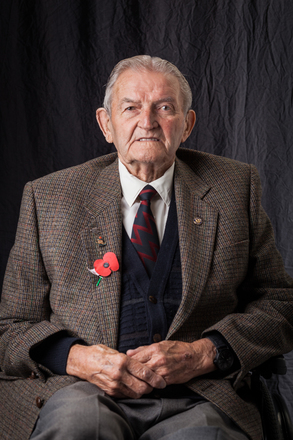 Portrait of W.J. Fryer, 72213 (2014). © NZIPP Photograph by Mandi Lynn 1255-2676. CC-BY-NC-ND 4.0.