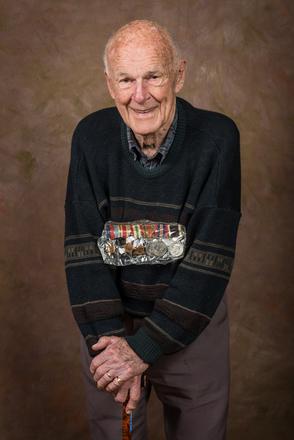 Portrait of James Toohey Austin, 43186 (2014). © NZIPP Photograph by  Chris Traill 9999-5210. CC-BY-NC-ND 4.0.