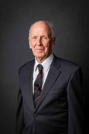 Portrait of Charles Murray Begg, NZ245? (2014). © NZIPP Photograph by  Rebecca Watson 9999-5201. CC-BY-NC-ND 4.0.